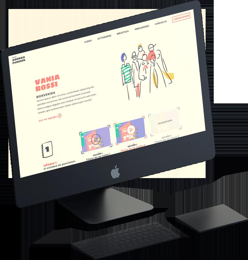 Proyecto Curso Online Ahorro y Pensión Asociación de Afps