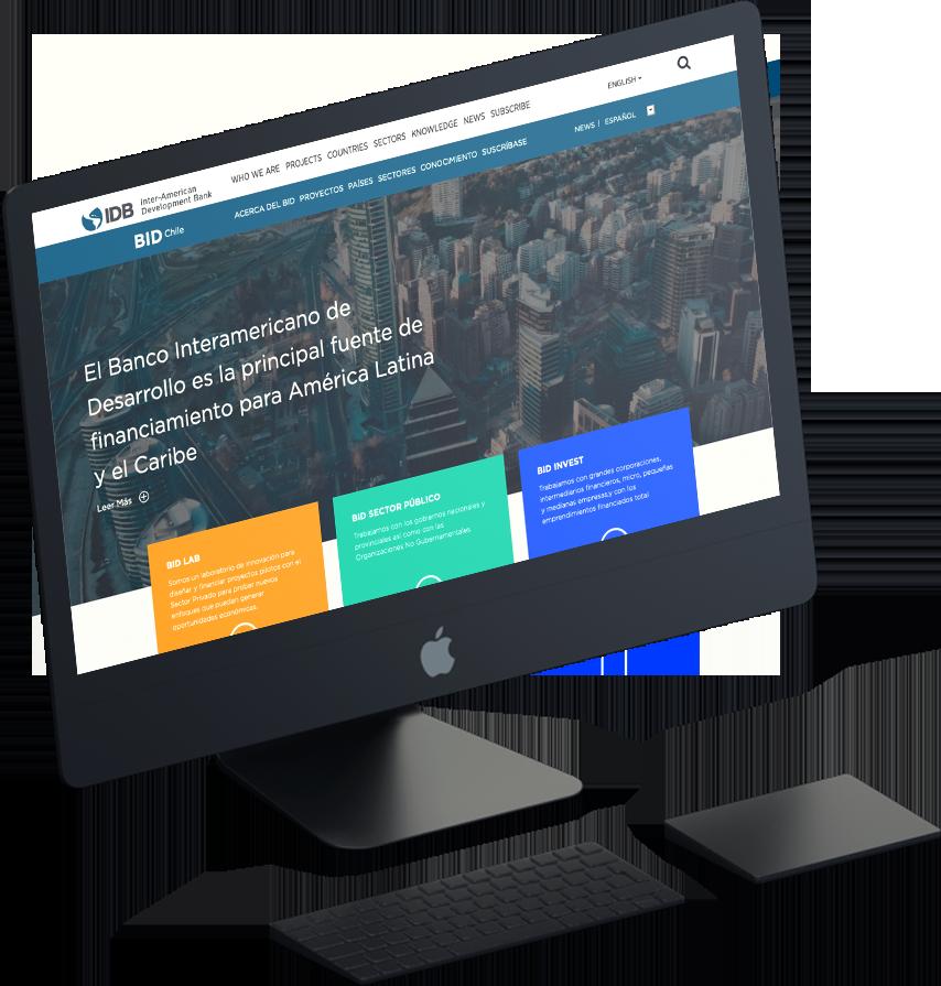 Proyecto Sitio Web Banco Interamericano de Desarrollo